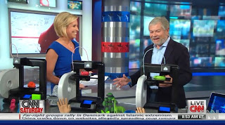Abe Reichental discusses the Cube 3D Printer on CNN