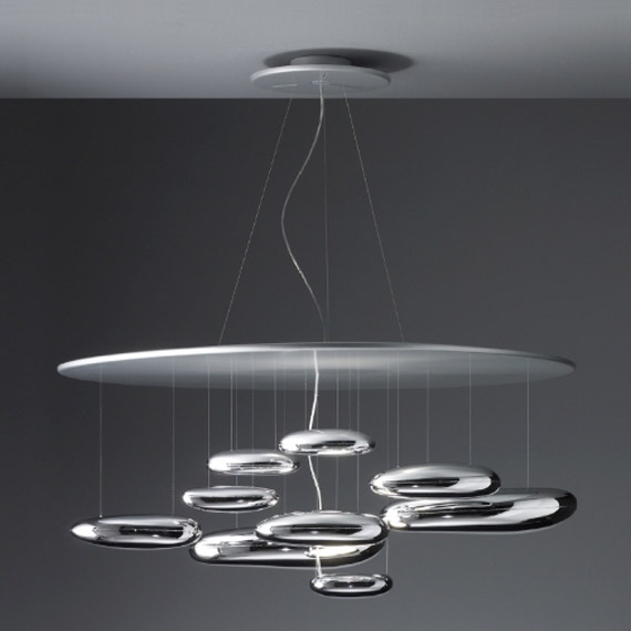Mercury lamp by Ross Lovegrove for Artemide