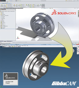 GibbsCAM Automation with SOLIDWORKS Models Featured at SOLIDWORKS World 2014