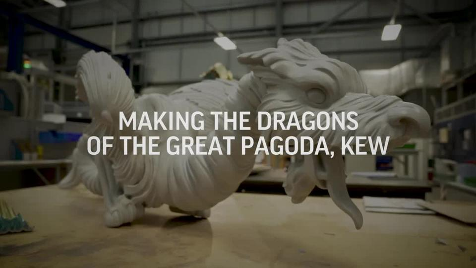 3d printing the dragons for the great pagoda kew 3d systems